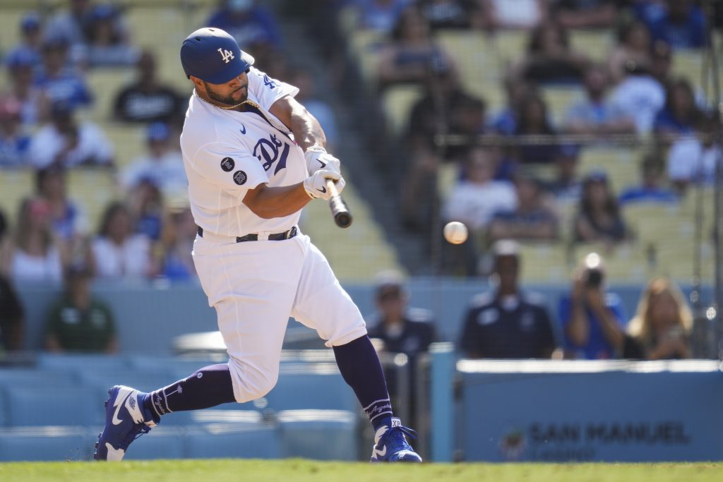 Dodgers hit high notes before All-Star break