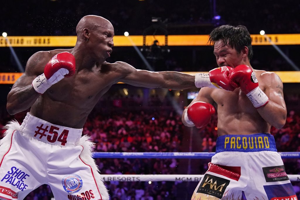 Yordenis Ugas upsets Manny Pacquiao in Their Welterweight World Title Showdown