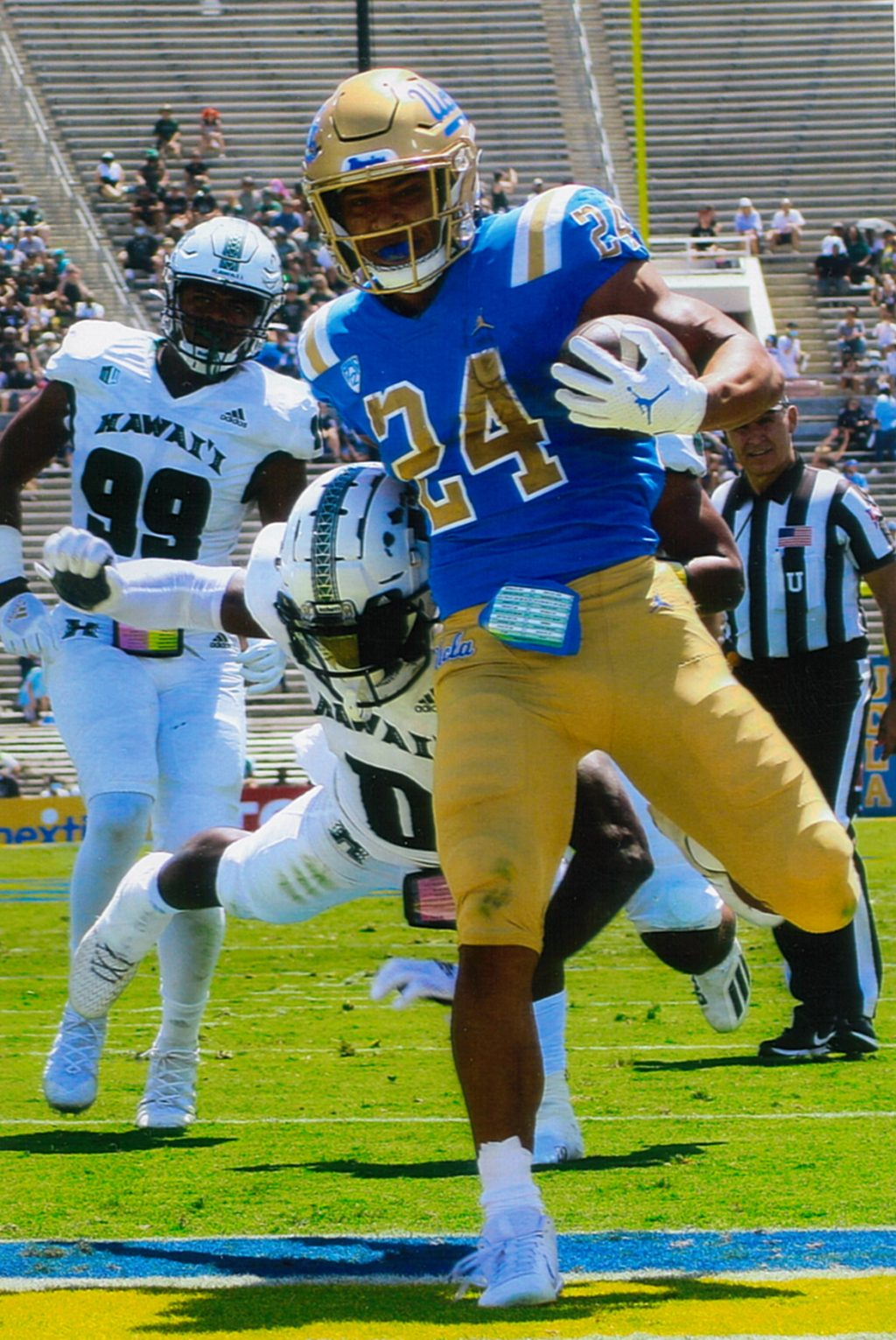 Bruins get off to a fast start