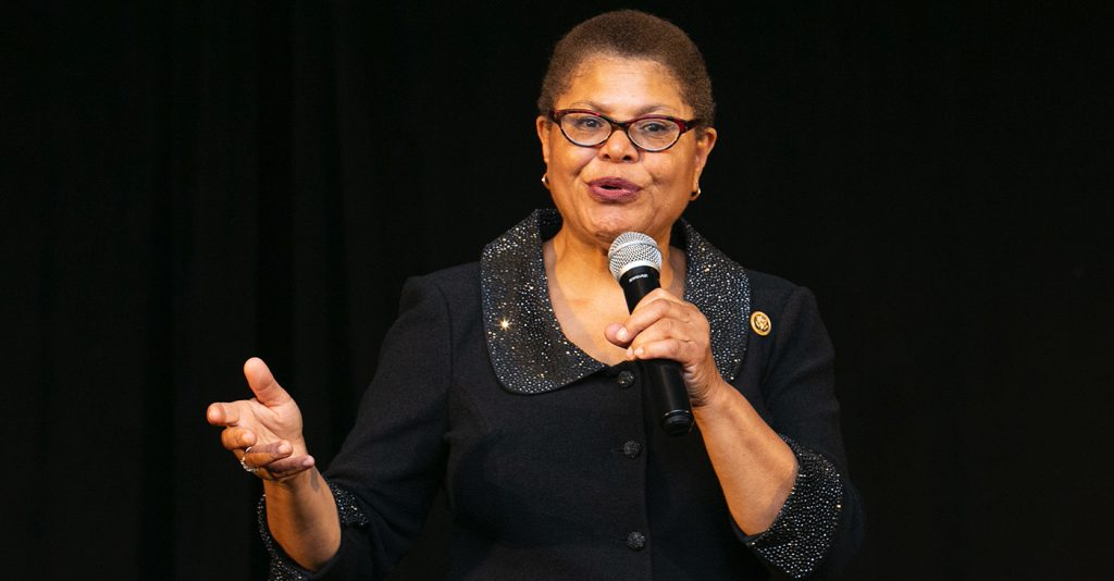 Report: Campaign Underway to Convince Rep. Karen Bass to Run for L.A. Mayor