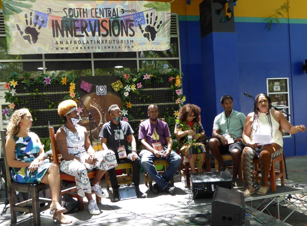 South Los Angeles InnerVision: An AfroLatinx Futurism