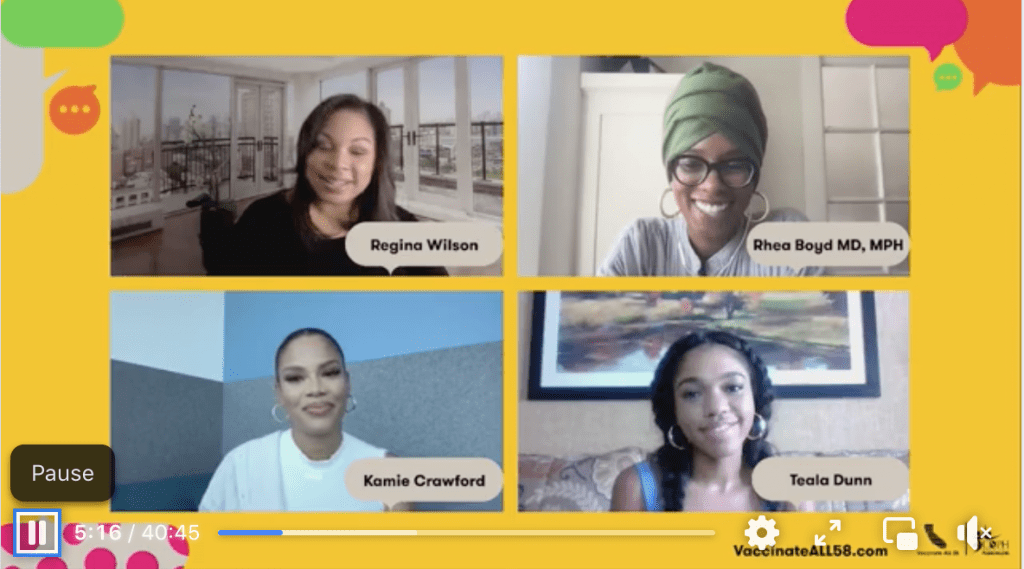 Discussing Delta: Four Influential Black Women Share Views on the Variant and Vaccination