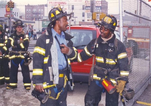 Firefighter Roderick Lewis Was There, and in Ways, He Still is Remembering 9/11