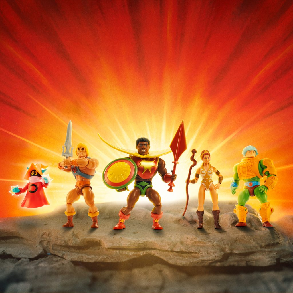 First Black Superhero Joins Masters of The Universe Franchise