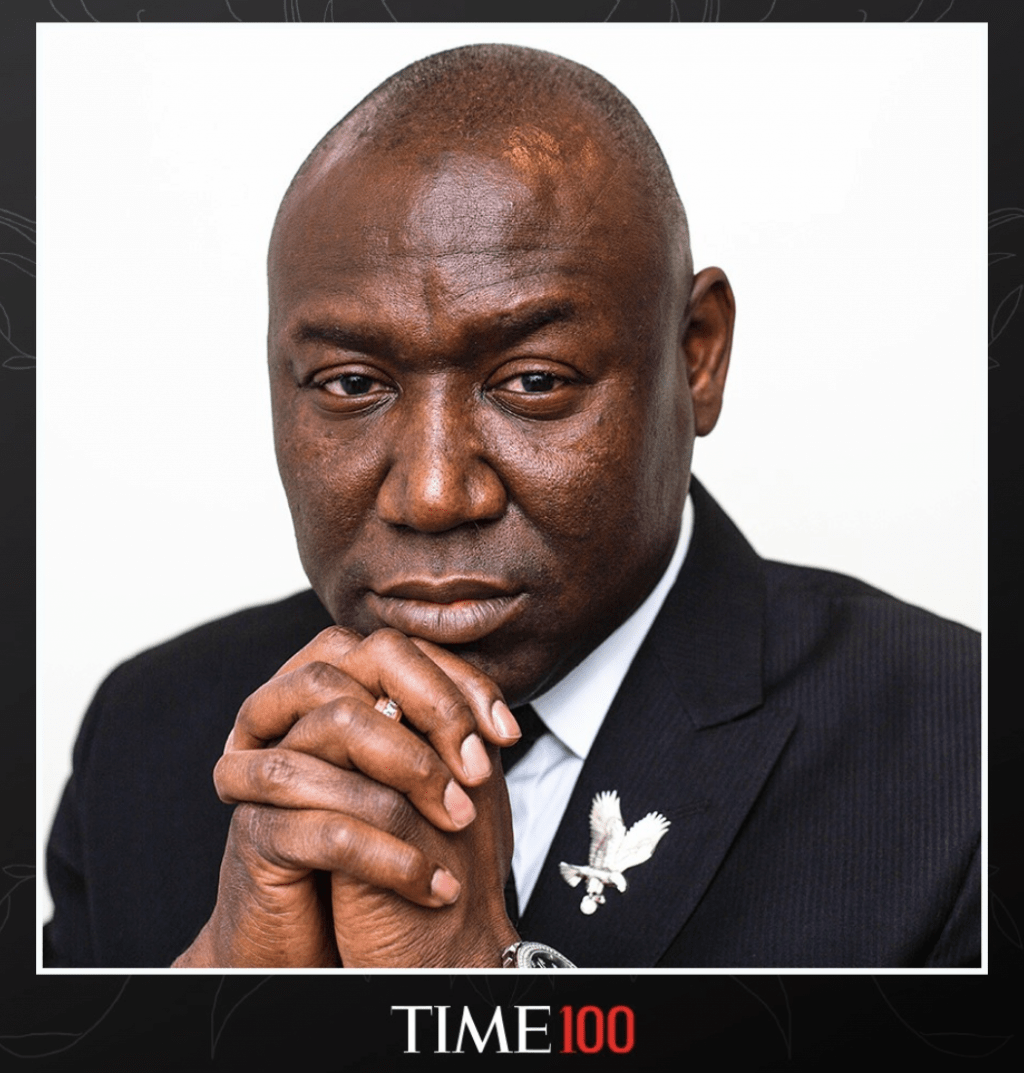 National Civil Rights Attorney Ben Crump Named to TIME's Annual TIME100 List of the 100 Most Influential People in the World