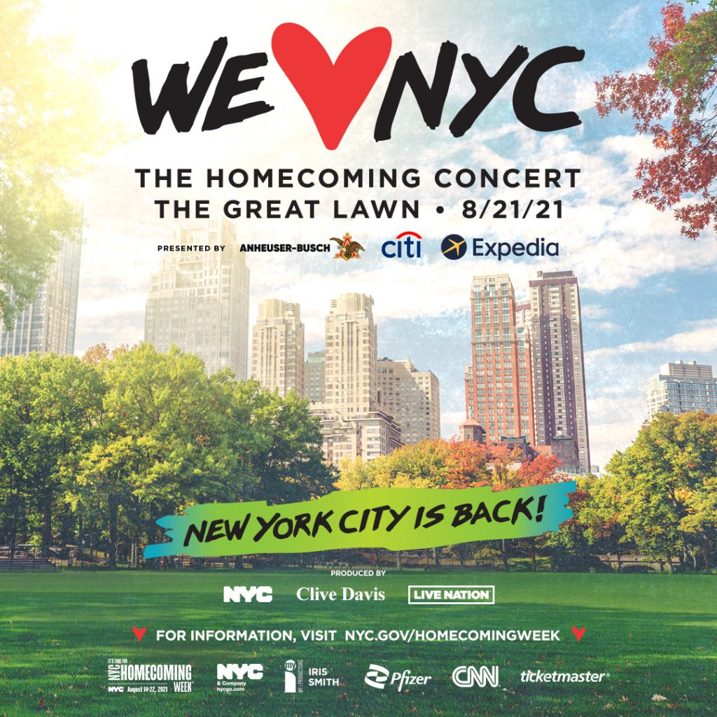 """""""We Love NYC: The Homecoming Concert"""""""