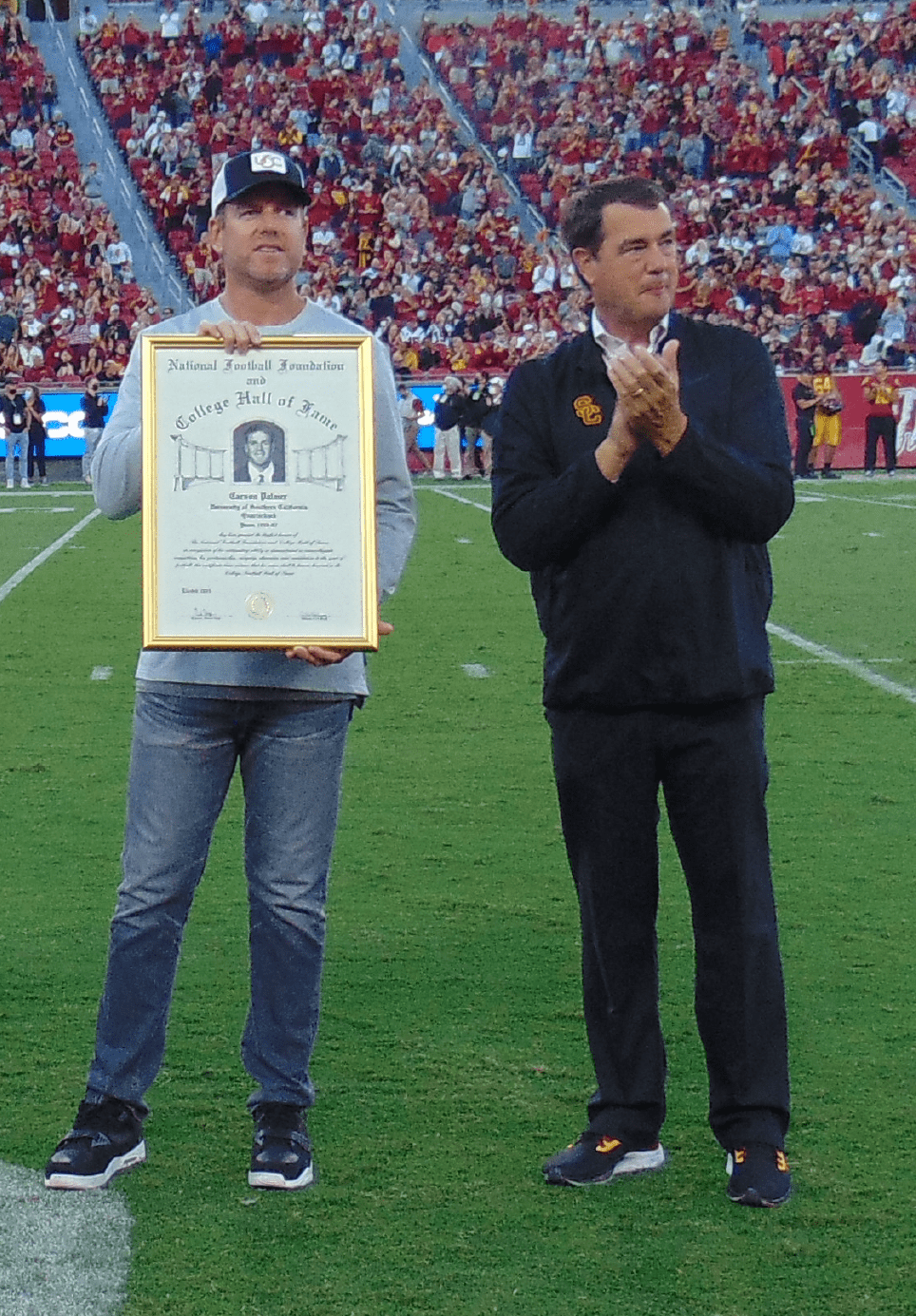 Carson Palmer headed to the College Hall of Fame
