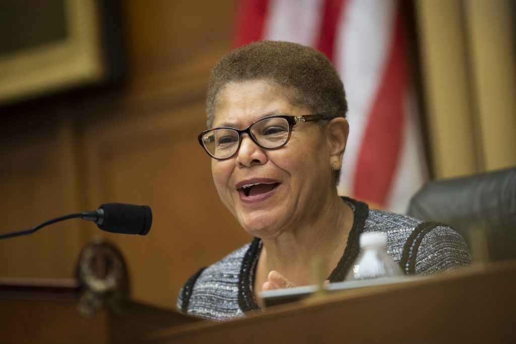 """LA Mayoral Race: Black Women Leaders Promise to """"Provide Cover"""" for Rep. Karen Bass"""